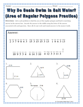11 4 Areas of Polygons Worksheets 7 10 KEY  authorSTREAM in addition geometry regular polygon – criticaleducatorscollective together with Amusing area Of Regular Polygon Worksheet   Worksheet furthermore Regular Shapes furthermore math – Page 84 – majicpics club besides  also  likewise FREE Area of Regular Polygons Foldable   Geometry Interactive likewise Area Of Regular Polygons Math Video Thumbnail Area Of Regular moreover Regular Polygons   Finding Apothem Central Angle AREA  6 Worksheets furthermore  as well Area of Regular and Irregular Polygons   Read     Geometry   CK 12 besides Area   Geometry Area of Regular Polygons Riddle Worksheet   TpT together with Perimeter Of Polygons Worksheet Area And Perimeter Of Polygons likewise Polygon Worksheets Area And Perimeter Of Regular Polygons Worksheets moreover 6 Area of Regular Polygons pdf   Kuta. on areas of regular polygons worksheet