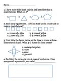 Geometry/ Arrays 2nd Grade