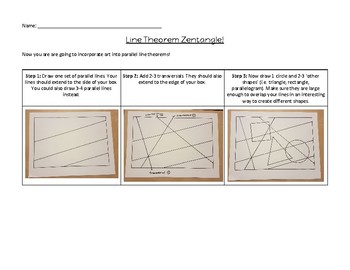 Geometry Art (Parallel Line Theorems)