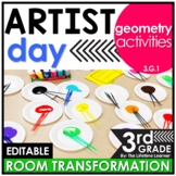 Geometry  - Artists Real World Math Activity