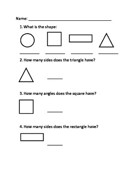 Geometry Assessment