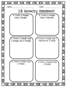 Geometry Assessment (1.G.2)