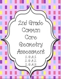 Geometry Assessment: CCSS 2nd Grade