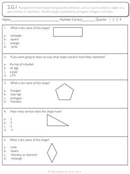 Geometry Assessments