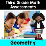 Geometry Assessments: Plane and Solid Figures, Congruency and Geometric Figures