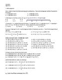 Geometry Assignment -- Segments and Segment Addition Postulate