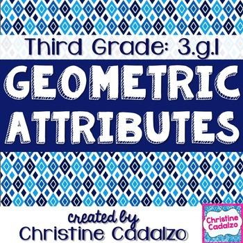 Third Grade Geometry Math Unit