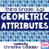 Third Grade Geometry Math Unit