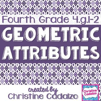 Fourth Grade Geometric Attributes Math Unit