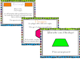 Geometry: Attributes of Shapes (Triangle, Quadrilaterals, Circles, Polygons)