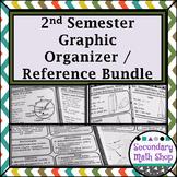 Geometry 2nd Semester Quick Reference Sheets Bundle!