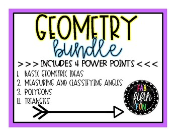 Geometry Power Point BUNDLE