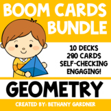 Geometry BUNDLE - Boom Cards - Distance Learning