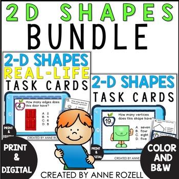 2D Task Cards BUNDLE!