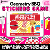 Geometry Barbecue SMART BOARD Game - Common Core Aligned