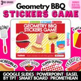 3rd Grade Geometry SMART BOARD Game - Common Core Aligned