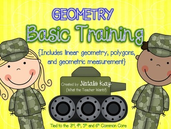 Geometry Basic Training - Common Core - Linear, Polygons,