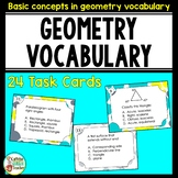 Geometry Vocabulary Terms and Definitions