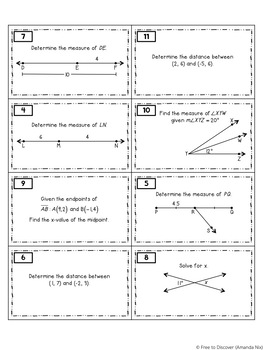Geometry Basics Activity