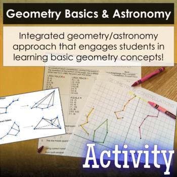 Geometry Basics & Astronomy - Coordinate Plane & 2D/3D Constellations