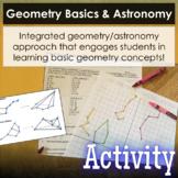 Geometry Basics & Astronomy - Coordinate Plane & 2D/3D Con