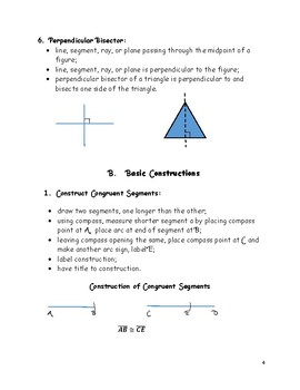 Geometry Basics: Constructions