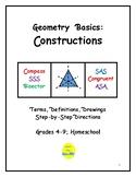 Geometry Basics: Constructions
