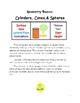 Geometry  Basics: Cylinders, Cones, Spheres