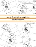 Geometry Basics Partner Worsheet