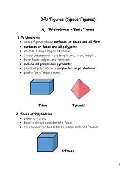 Geometry Basics: Polyhedrons