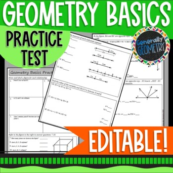 Angles And Segments Worksheets & Teaching Resources | TpT