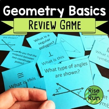 Geometry Basics Review Game