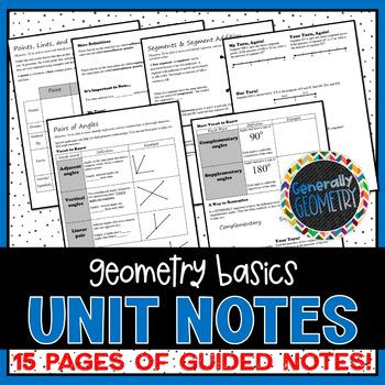 Geometry Basics Unit Notes