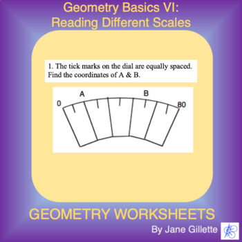 Geometry Basics VI: Reading Different Scales