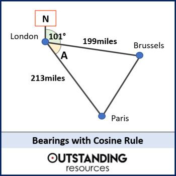 Trigonometry Bearings Worksheets & Teaching Resources | TpT