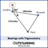 Bearings 2 - with Trigonometry (+ resources)