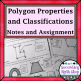 Beginning Concepts. #5 Polygons: Properties/Classify/Perimeter  Notes/Hmwk