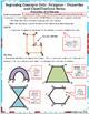 Beginning Concepts. #5 Polygons: Properties/Classify/Perim