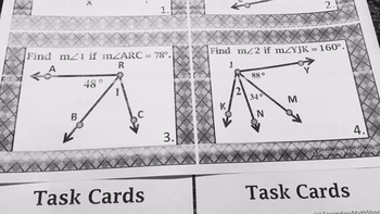 Beginning Concepts - Unit 1: Building Block of Geometry Unit BUNDLE!!!