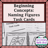 Naming Figures (Beginning  Concepts ) Task Cards