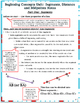 Beginning Concepts #2 - Segments, Distance and Midpoints N