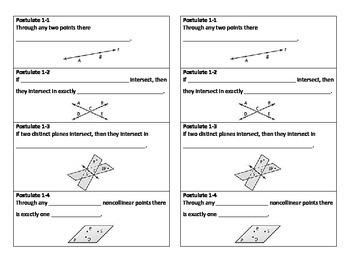 Geometry Beginning Theorem NOTES