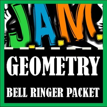 Geometry Bell Ringer Packet (Complete 3rd 9 weeks) Do Now Problems