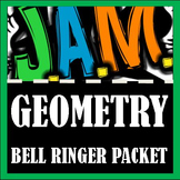 Geometry Bell Ringer Packet (Complete 3rd 9 weeks) Do Now