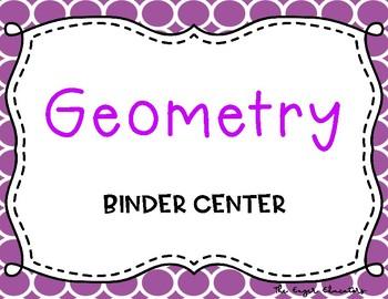 Geometry Binder Center