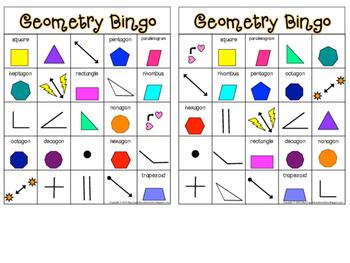 Geometry Bingo!