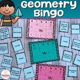 Geometry Activity - Geometry Bingo