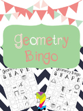 Geometry Bingo Review (2D and 3D) Fun Friday Activity