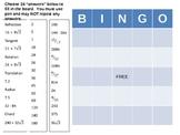 Geometry Bingo 2nd Semester Review