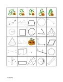 Geometry Bingo (Fall theme)